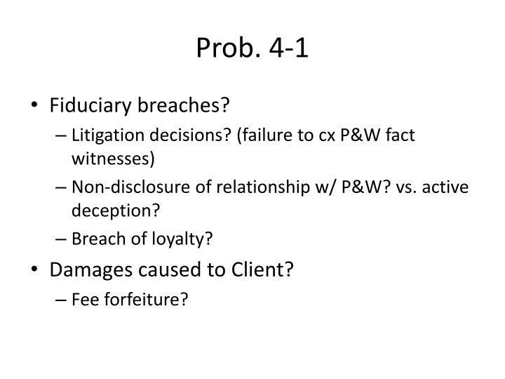 Prob. 4-1