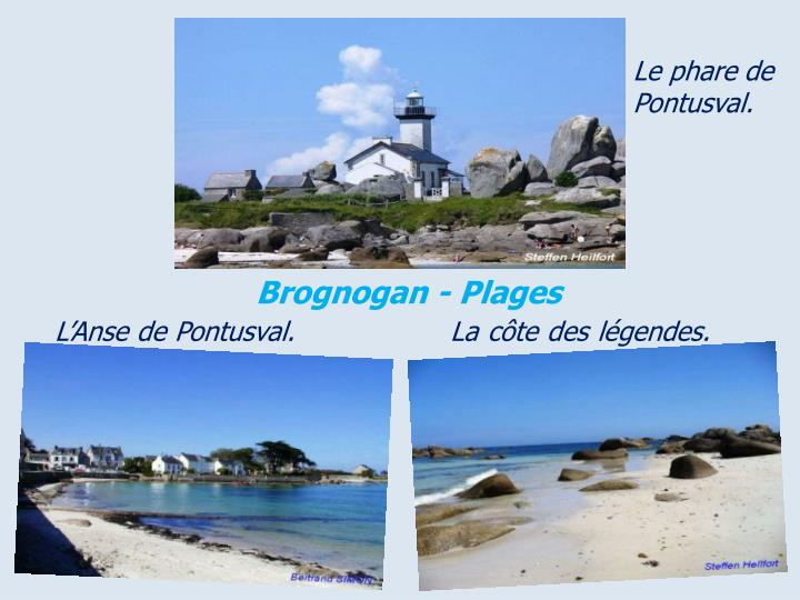 Le phare de Pontusval.
