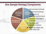 one sample strategy components