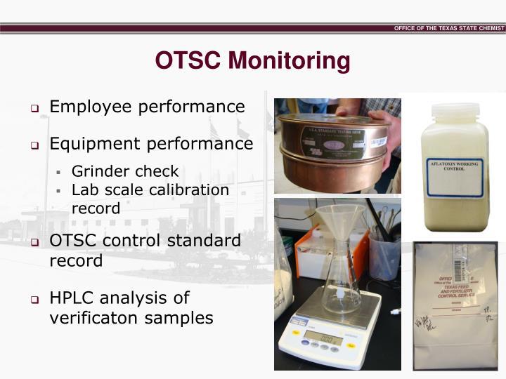 OTSC Monitoring