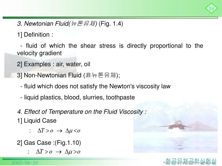 3. Newtonian Fluid(