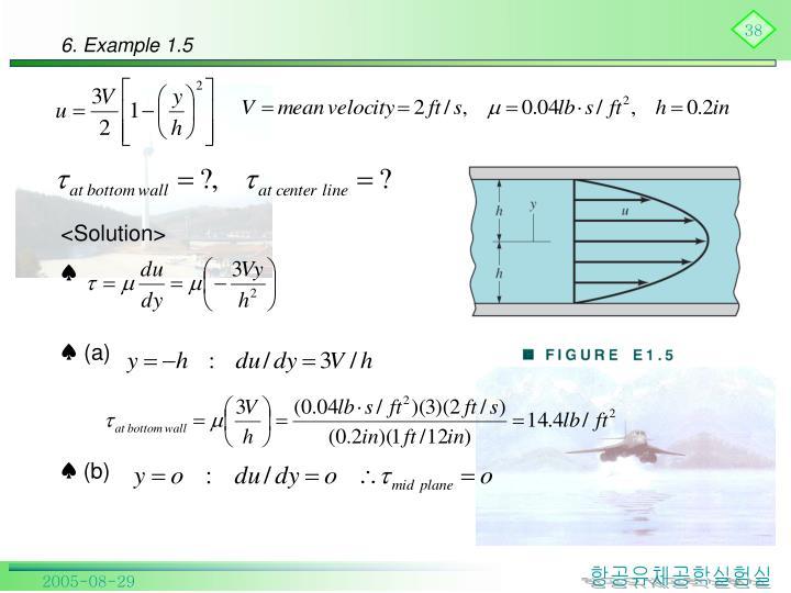 6. Example 1.5