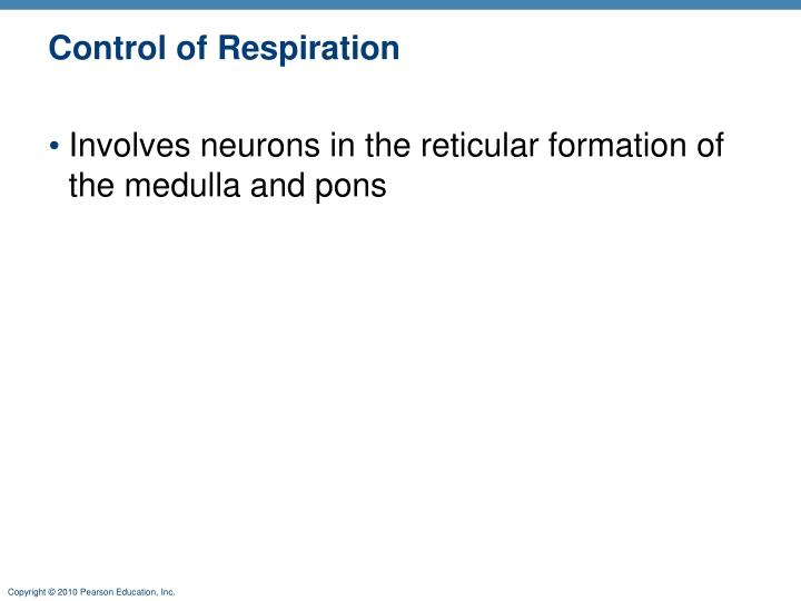 Control of Respiration