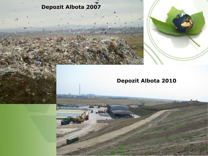 Depozit Albota 2007
