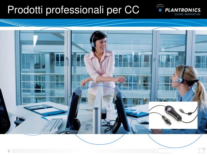 Prodotti professionali per CC