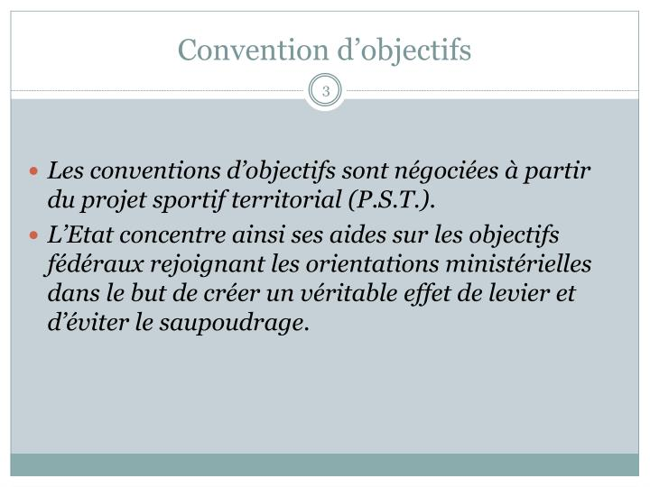 Convention d objectifs1