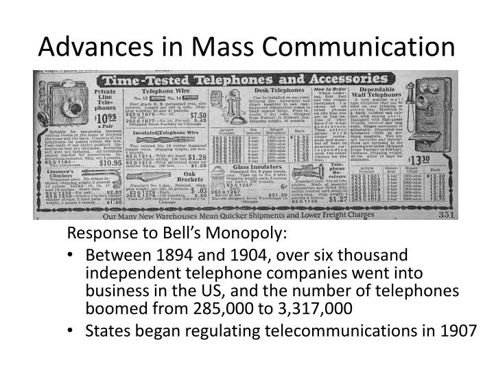 Response to Bell's Monopoly: