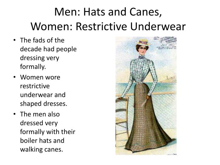 Men: Hats and Canes,