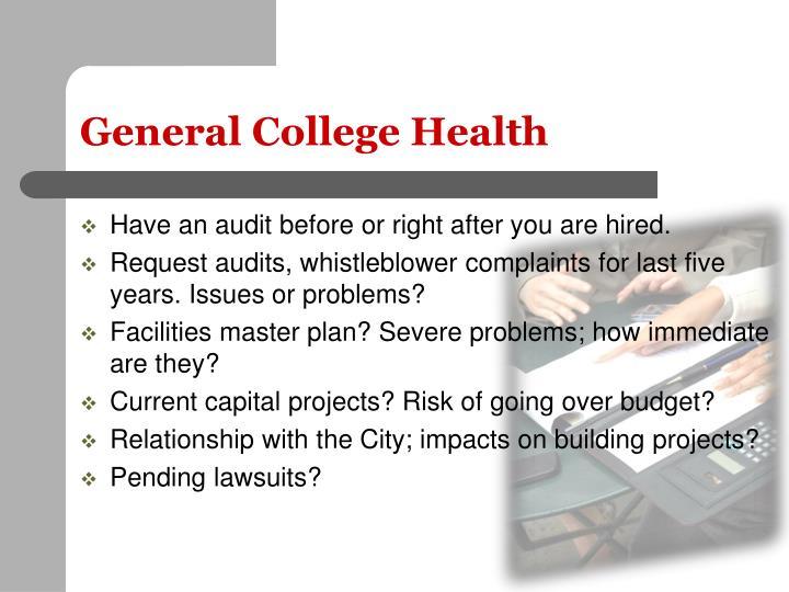 General College Health