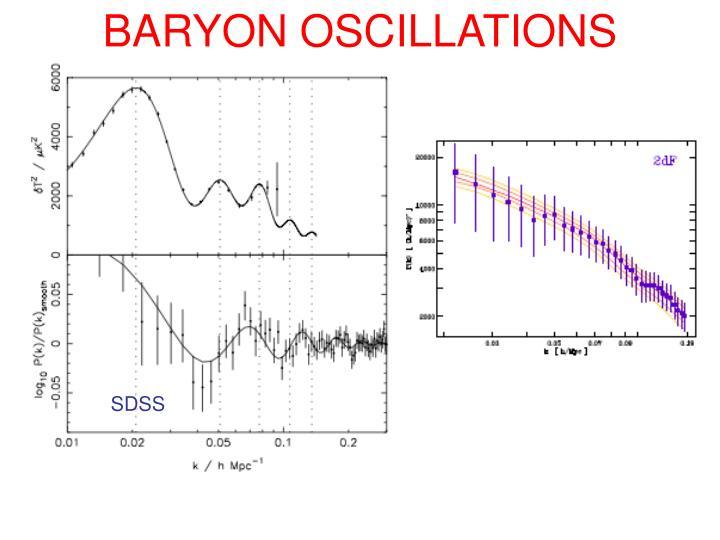 BARYON OSCILLATIONS
