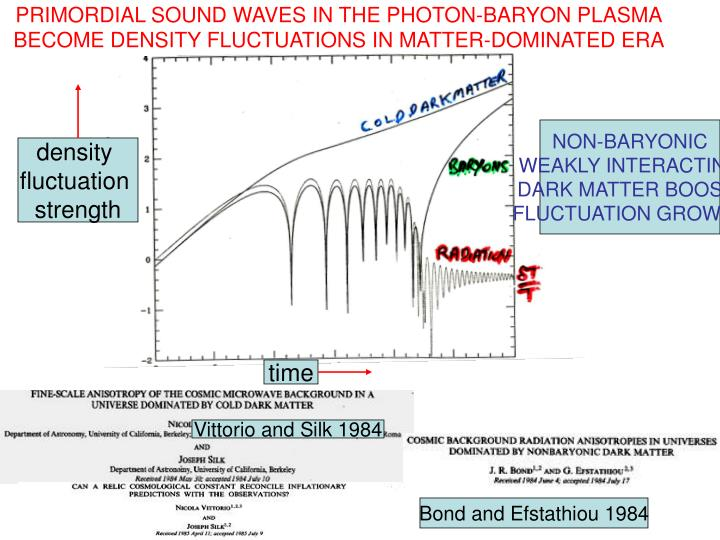 PRIMORDIAL SOUND WAVES IN THE PHOTON-BARYON PLASMA