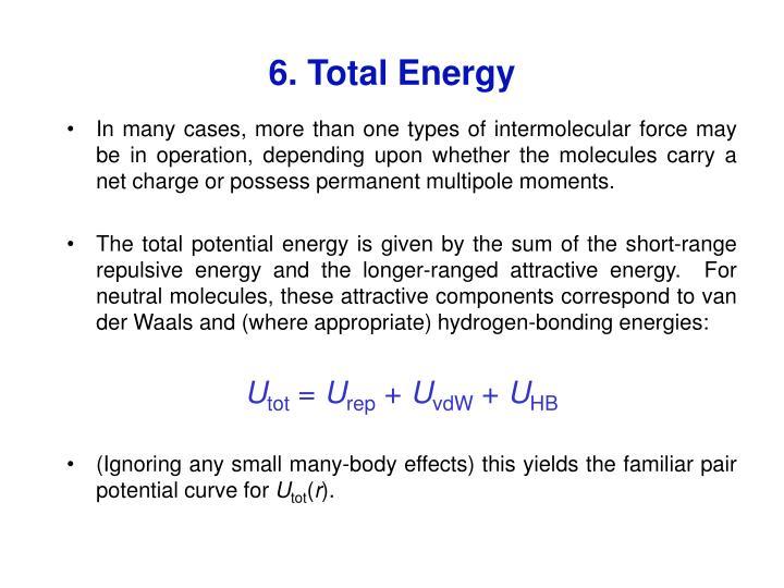 6. Total Energy