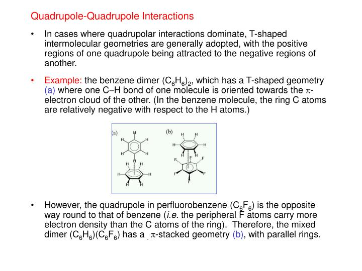 Quadrupole-Quadrupole Interactions