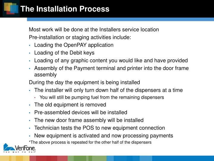 The Installation Process