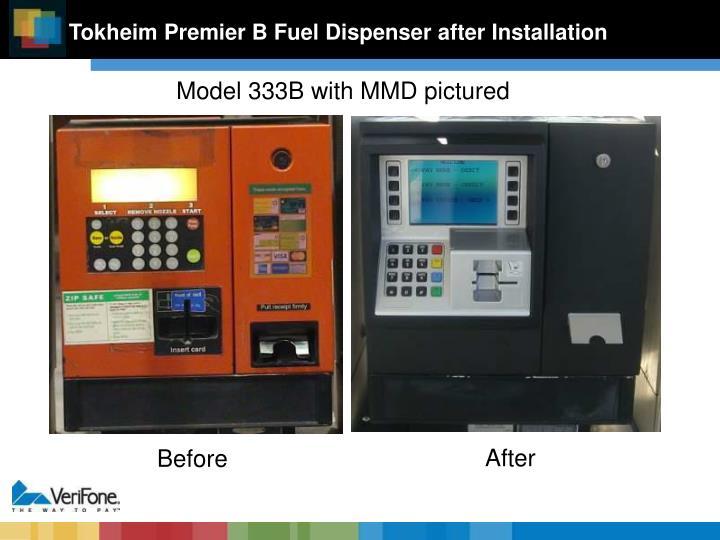 Tokheim Premier B Fuel Dispenser after Installation