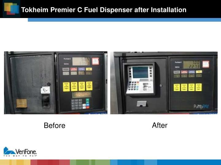 Tokheim Premier C Fuel Dispenser after Installation