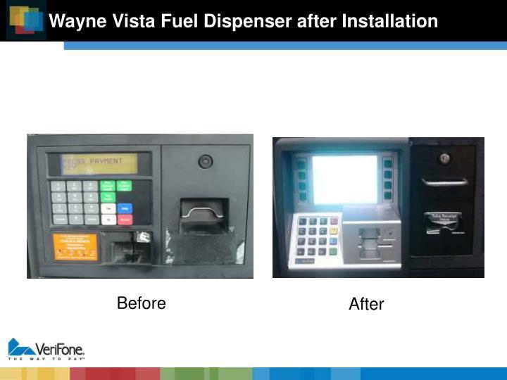 Wayne Vista Fuel Dispenser after Installation