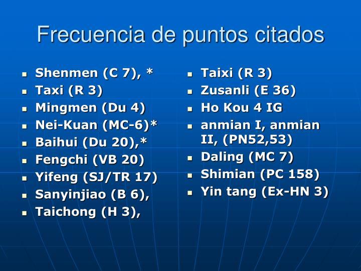 Shenmen (C 7), *