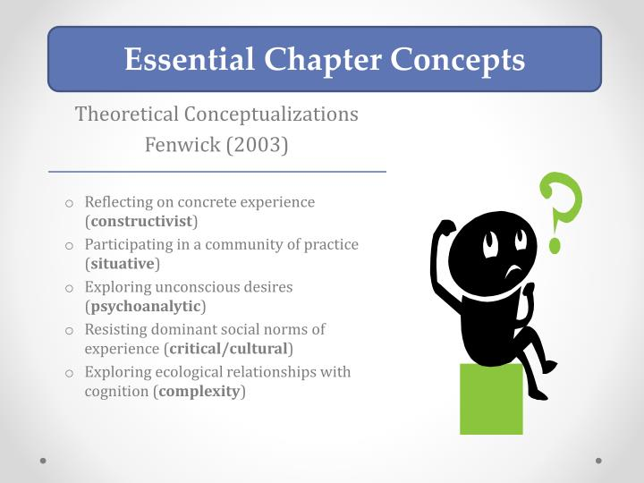 Essential Chapter Concepts