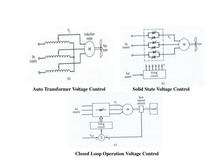 Auto Transformer Voltage Control