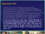 hippocratic oath6