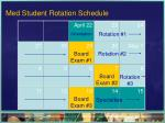 med student rotation schedule1