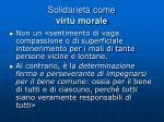 solidariet come virt morale