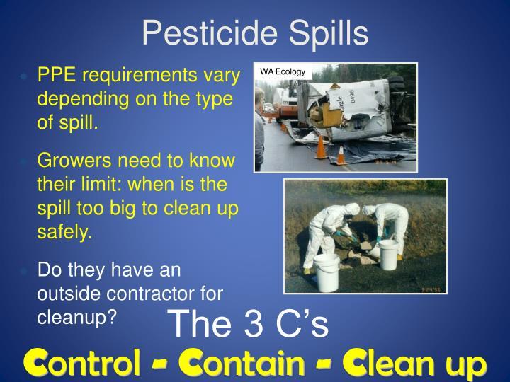 Pesticide Spills