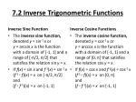 7 2 inverse trigonometric functions1