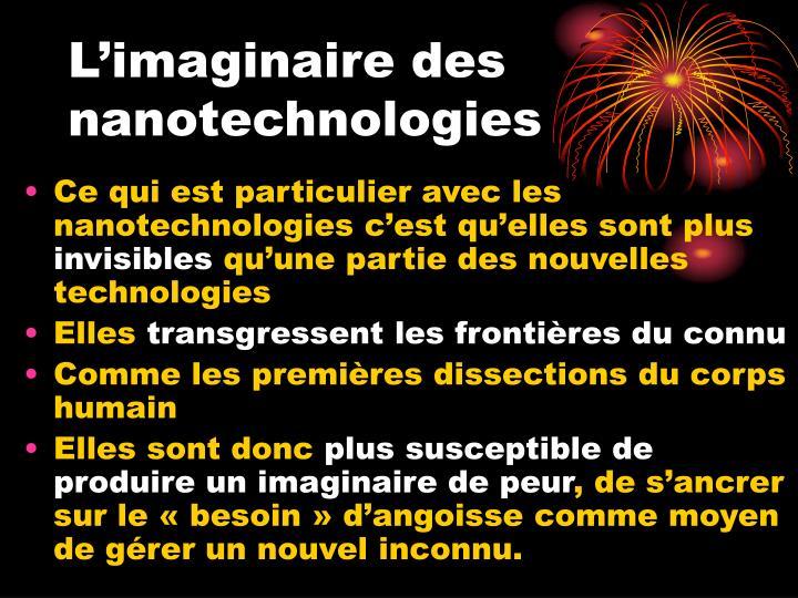 L'imaginaire des nanotechnologies