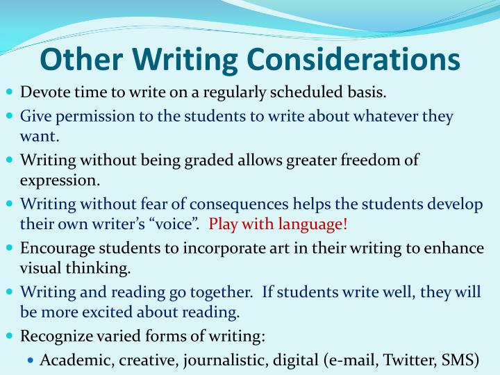 academic writing expressions