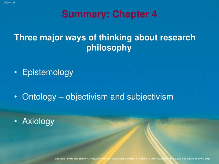 research philosophies and approaches Educational philosophies in the classroom  and the goal is to provide students with the best education possible  refine this approach for effective teaching.