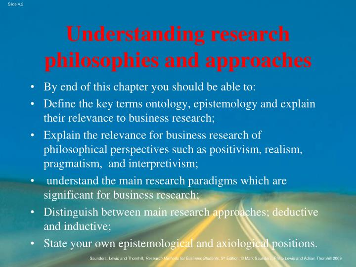 Research approaches ppt