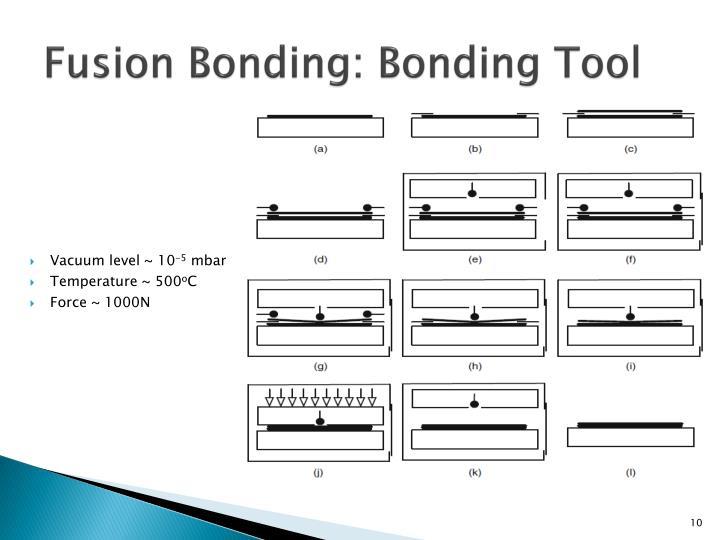 Fusion Bonding: Bonding Tool