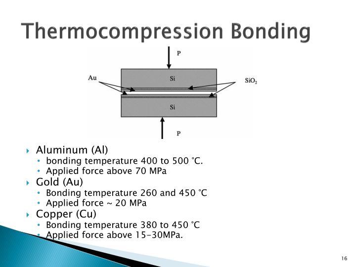 Thermocompression Bonding