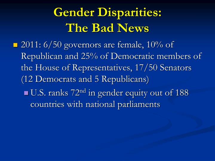 Gender Disparities:
