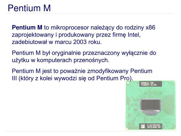Pentium M