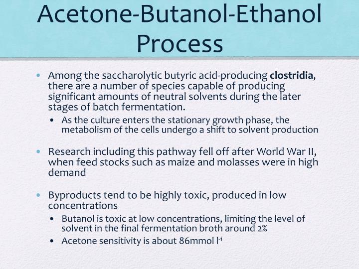 Acetone-