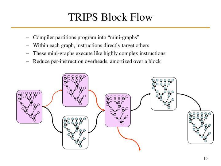 TRIPS Block Flow