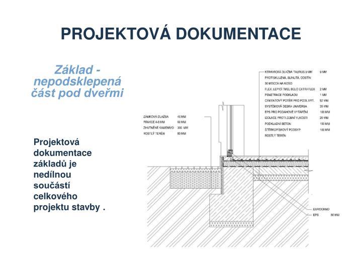 Projektová dokumentace