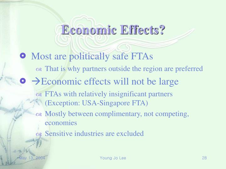 Economic Effects?