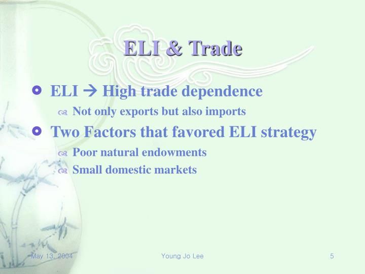 ELI & Trade