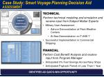 case study smart voyage planning decision aid assessment