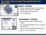 case study smart voyage planning decision aid monitoring