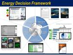 energy decision framework