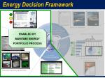 energy decision framework1