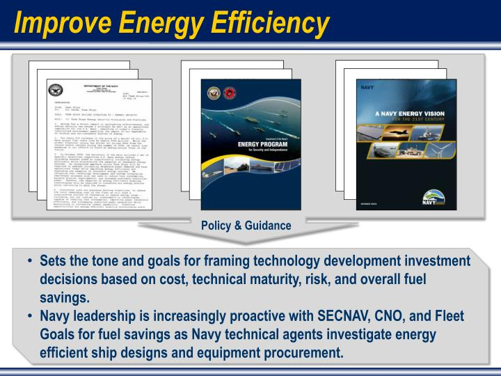 Improve Energy Efficiency