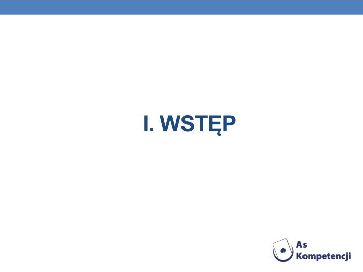I. wstp