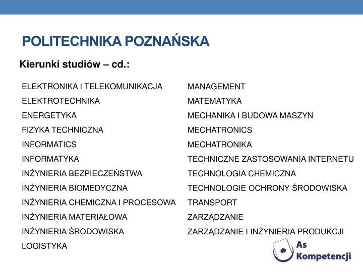 Politechnika Poznaska