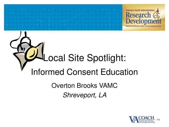 Local Site Spotlight: